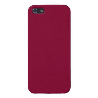 Red Dahlia Brick Maroon Burgundy 2015 Color Trend iPhone SE/5/5s Case