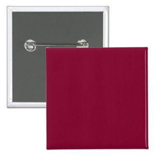 Red Dahlia Brick Maroon Burgundy 2015 Color Trend Pinback Button