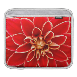 Red Dahlia iPad Sleeve