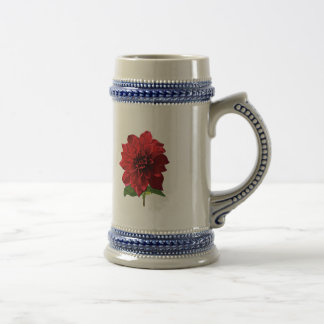 Red Dahlia Spartacus Mugs