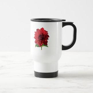 Red Dahlia Spartacus Mug