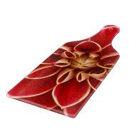 Red Dahlias Blossoms Flowers Spring Destiny