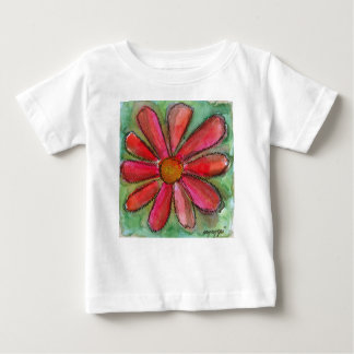 red daisy baby T-Shirt