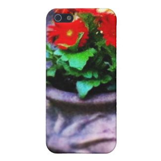 Red Daisy Delight iPhone 5 Covers