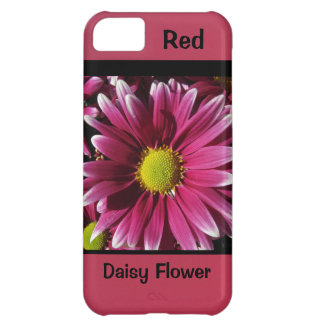 Red Daisy Flower iPhone 5C Case