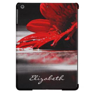 Red Daisy Gerbera Flower iPad Air Case