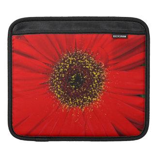 Red Daisy iPad Horizontal Sleeve