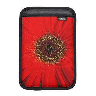 Red Daisy iPad Mini  Vertical Sleeve
