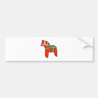 Red Dala Horse Bumper Stickers