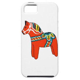 Red Dala Horse iPhone 5 Case