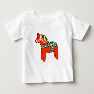 Red Dala Horse Infant T-shirt