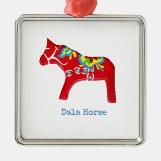 Red Dala Horse Ornament