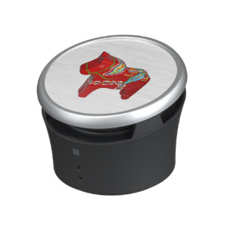 Red Dala Horse Speaker