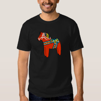 Red Dala Horse T Shirt