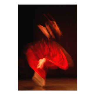 RED DANCER PHOTO ART