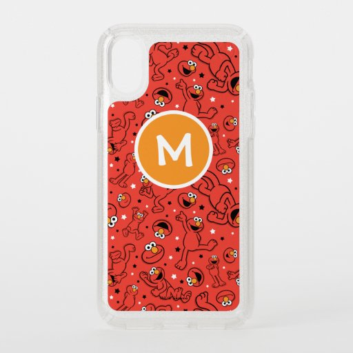 Red Dancing Elmo Pattern Speck iPhone X Case