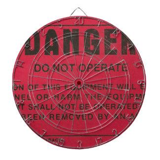 Red Danger Tag Dartboards