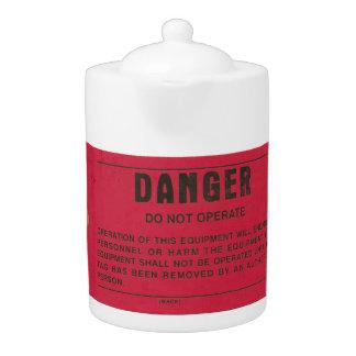 Red Danger Tag