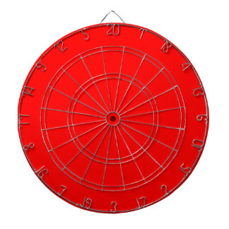 Red Dartboard