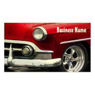 Red Dawn Chevy Double-Sided Standard Business Cards (Pack Of 100)