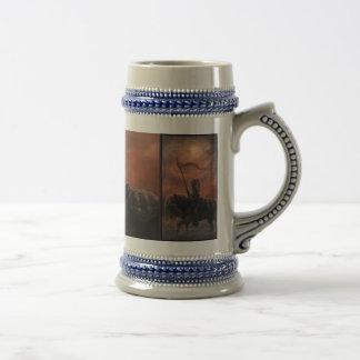 Red Dawn Stein Mug