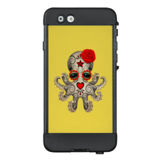 Red Day of the Dead Baby Octopus LifeProof NÜÜD iPhone 6 Case