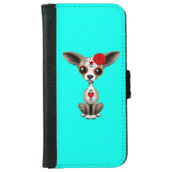 iPhone 6 Wallet Case with Chihuahua Phone Cases design