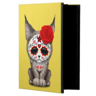 Red Day of the Dead Sugar Skull Lynx Cub Powis iPad Air 2 Case