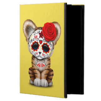 Red Day of the Dead Sugar Skull Tiger Cub Powis iPad Air 2 Case