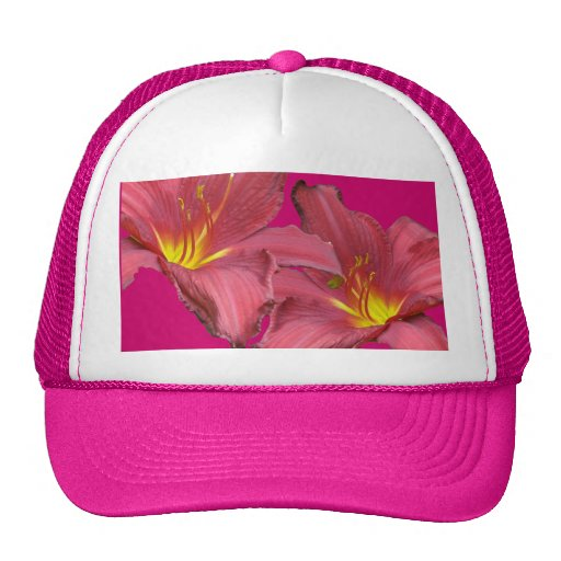 Red Daylily Coordinating Items Hat