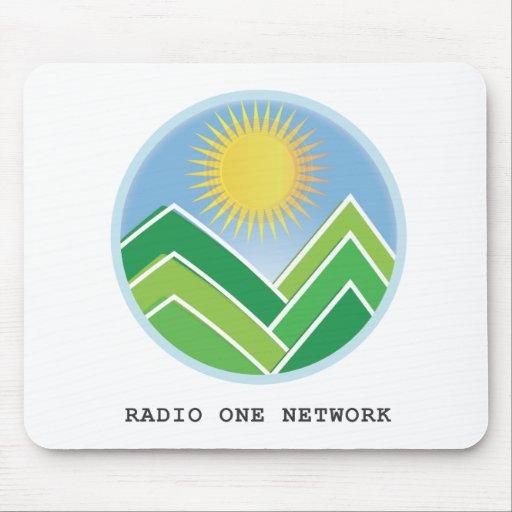 Red de la radio una mouse pad