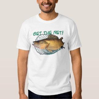 Red de pesca de los leucomas polera