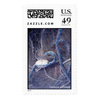 red de pesca sello