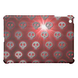 Red Dead Skulls iPad Case