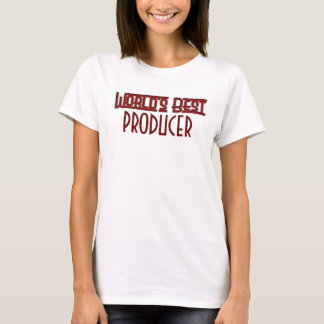 Red Deco World's Best Producer T-Shirt