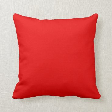 Beach Themed Red Decorative Accent Throw Pillows