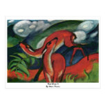 Red Deer Ii By Marc Franz Postcard