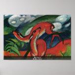 Red Deer Ii By Marc Franz Print