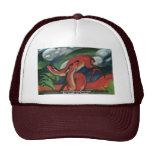 Red Deer Ii By Marc Franz Trucker Hats