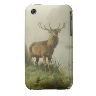 Red Deer painting iPhone 3 Case-Mate Cases