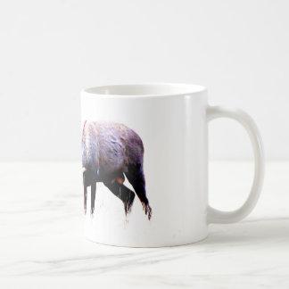 Red Deer Rut Classic White Coffee Mug
