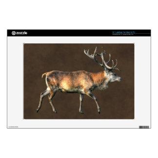 "Red Deer Stag Wildlife Animal Design 13"" Laptop Skins"