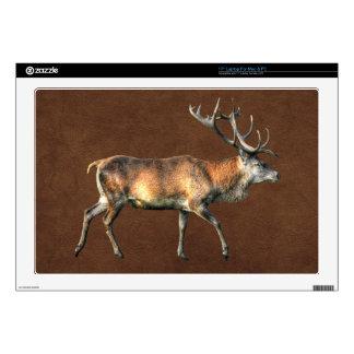 Red Deer Stag Wildlife Animal Design Skin For Laptop