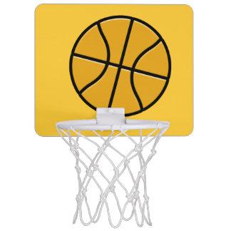 Red del aro de baloncesto de la oficina minicanastas