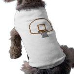 Red del baloncesto camisas de mascota