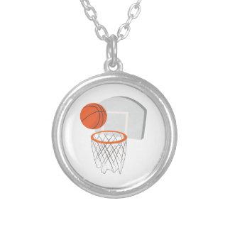 Red del baloncesto colgante redondo