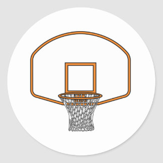 Red del baloncesto etiqueta
