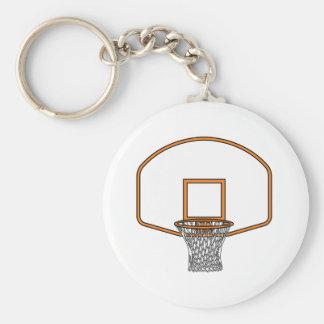 Red del baloncesto llaveros