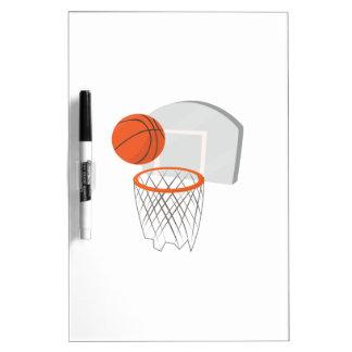 Red del baloncesto tableros blancos
