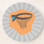 red del baloncesto posavasos para bebidas